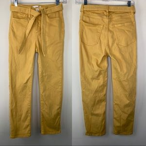 LC Lauren Conrad high rise slim straight pants, 4